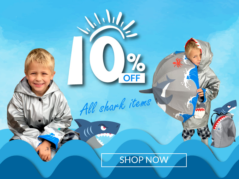Kidorable: 10% OFF all Shark i...
