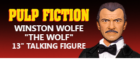 "PULP FICTION 13 INCH WINSTON ""THE WOLF"" WOLFE"