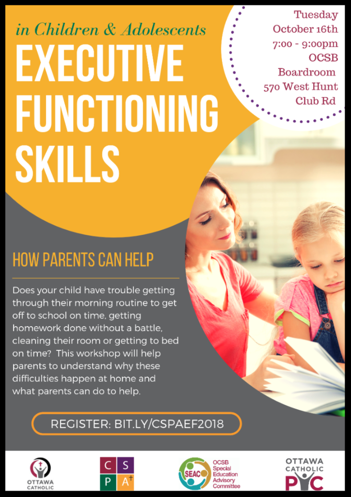 What Can Be Done To Help Parents Of >> Executive Functioning Skills In Children And Adolescents