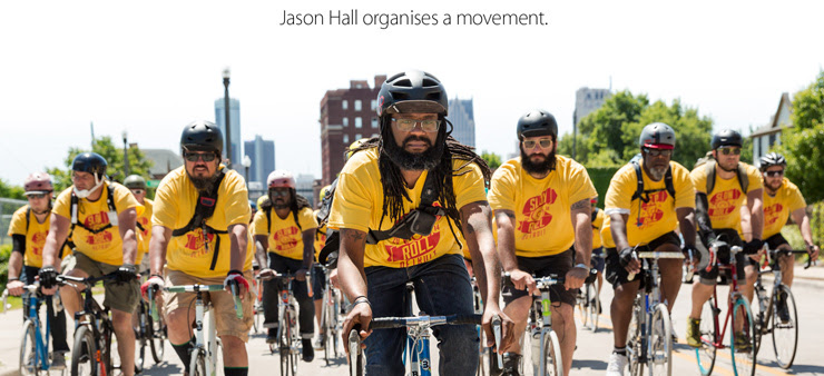 Jason Hall organises a movement.