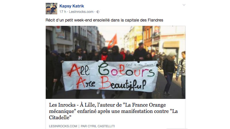 Quand un journaliste antifa aux Inrocks minimise l'agression visant Laurent Obertone