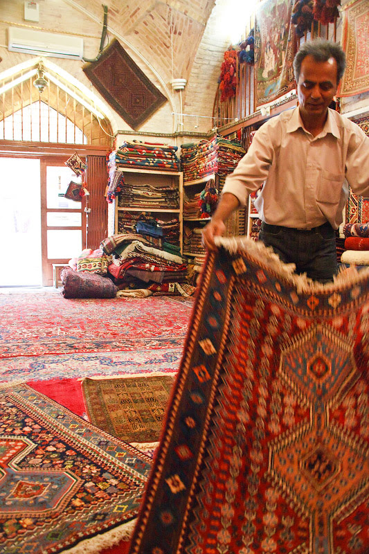 Исфахан. Ковры