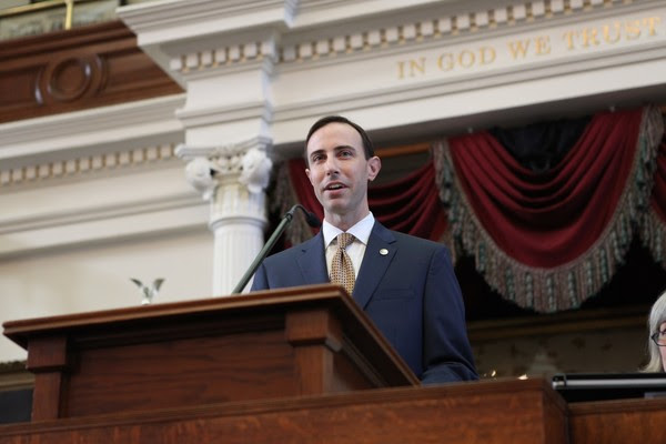 Secretary Whitley Addresses the 86th Legislature
