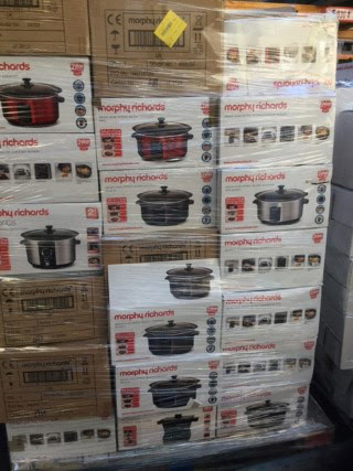 Morphy Richards slow cooker raw return pallets
