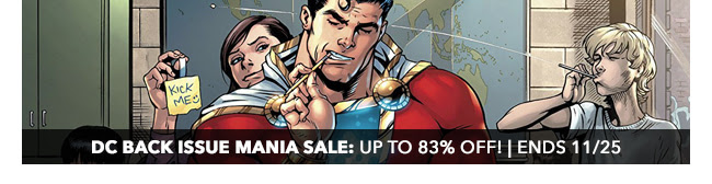 DC Back Issue Mania Sale: up to 83% off! | Ends 11/25