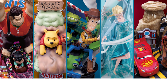 DISNEY D-SELECT STATUES