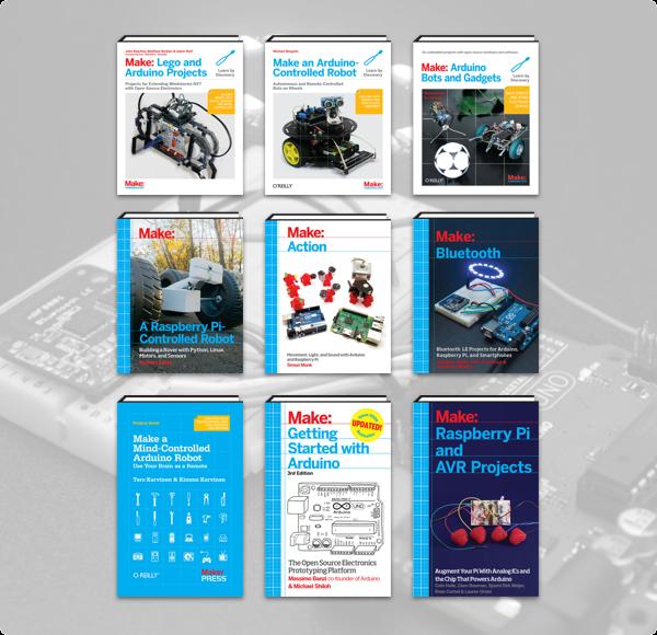 Humble Book Bundle: Microcontrollers Raspberry Pi & Arduino by Make: