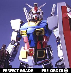 Gundam PG 1/60 RX-78-2 Gundam (Chrome Plated Ver.) Model Kit