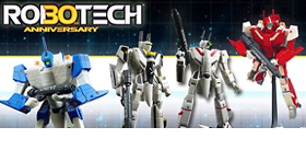 ROBOTECH 30TH ANNIVERSARY 1/100 SCALE TRANSFORMABLES