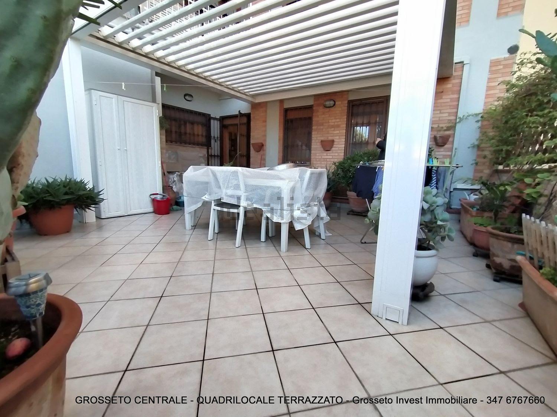 Grosseto Invest di Luigi Ciampi vendita appartamento Terrazzo di Quadrilocale vendita via Depretis, 30, Centro, Grosseto