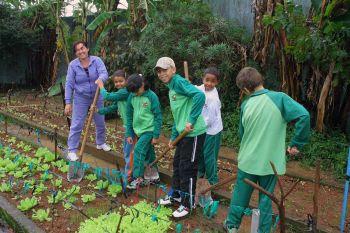UnB oferece oportunidade para estados e municípios no projeto Educando com a Horta Escolar e a Gastronomia