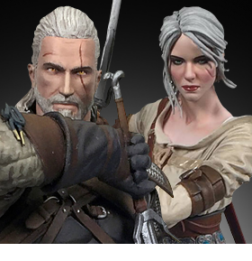THE WITCHER III: WILD HUNT 8-INCH FIGURES