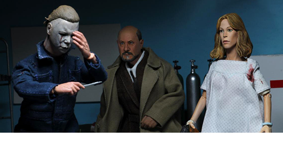 Halloween 2 Doctor Loomis & Laurie Strode Two-Pack