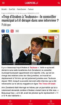 Il y a beaucoup trop d'arabes à Toulouse