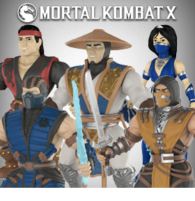 "MORTAL KOMBAT 5.50"" ACTION FIGURES"