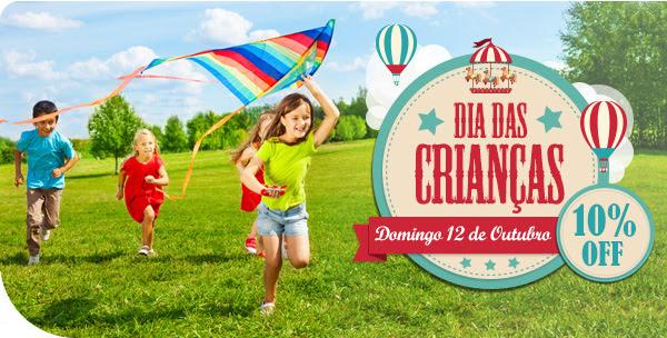 Dia das Criangas - Domingo 12 de Outubro - 10% OFF