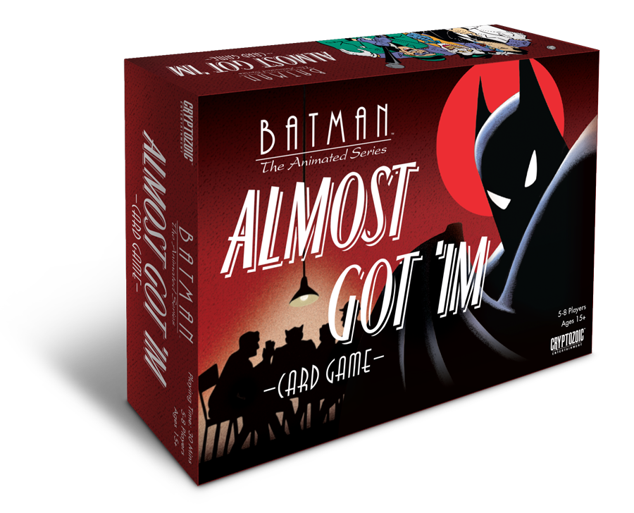 Batman: The Animated Series Almost Got 'Im Card Game Box