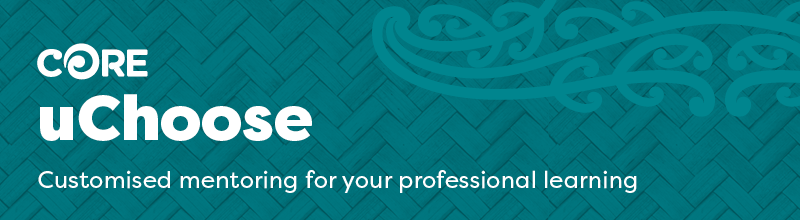 CORE uChoose - customised mentoring for your professional learning