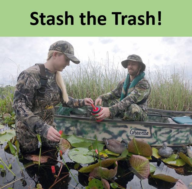 Stash the trash