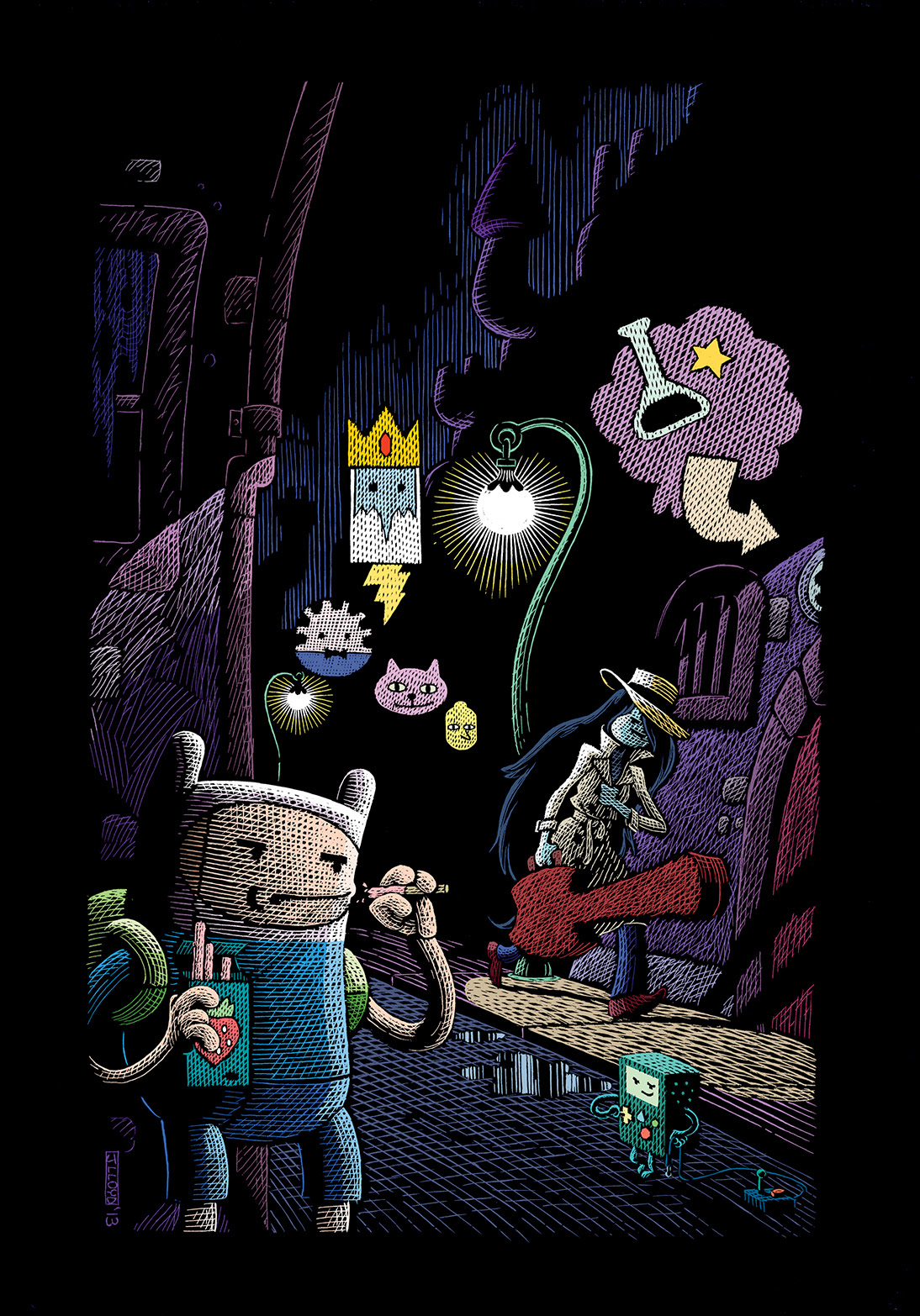 ADVENTURE TIME #28 Cover C by James Lloyd