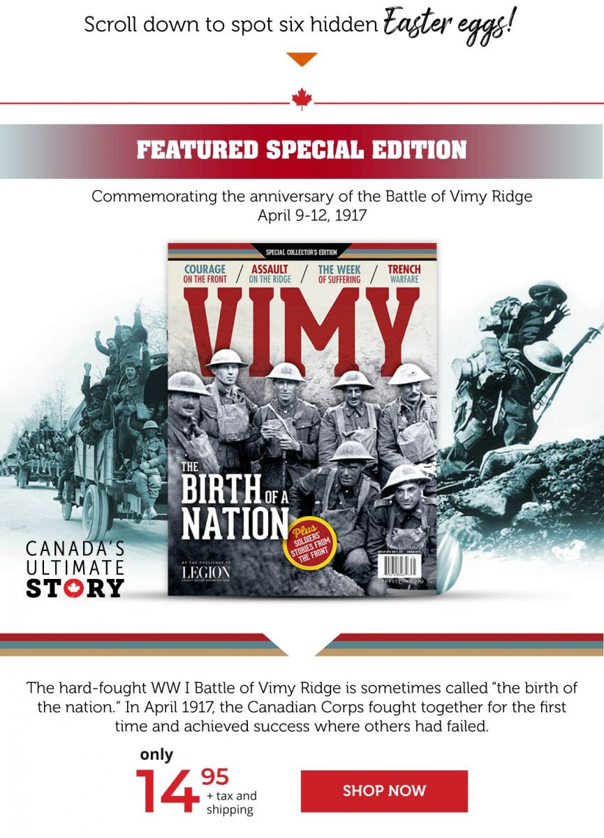 Vimy Special edition