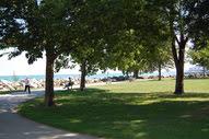 Park along the lakefront
