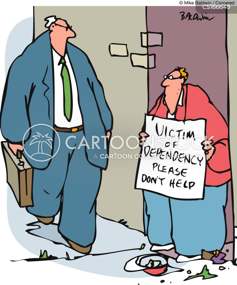 Image result for aid beggars cartoon