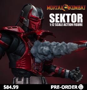 Mortal Kombat VS Series Sektor 1/12 Scale Figure