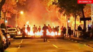 La crisis de Cataluña tras la sentencia del procés. Desobediencia institucional y disturbios en las calles