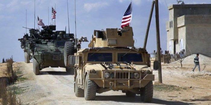 Un grande convoglio militare americano entra nella Siria           nord-orientale dall'Iraq