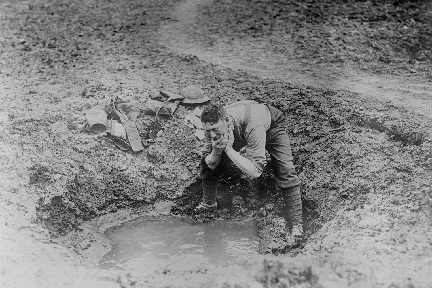 Climate anomaly caused WW I mud, flu pandemic: study