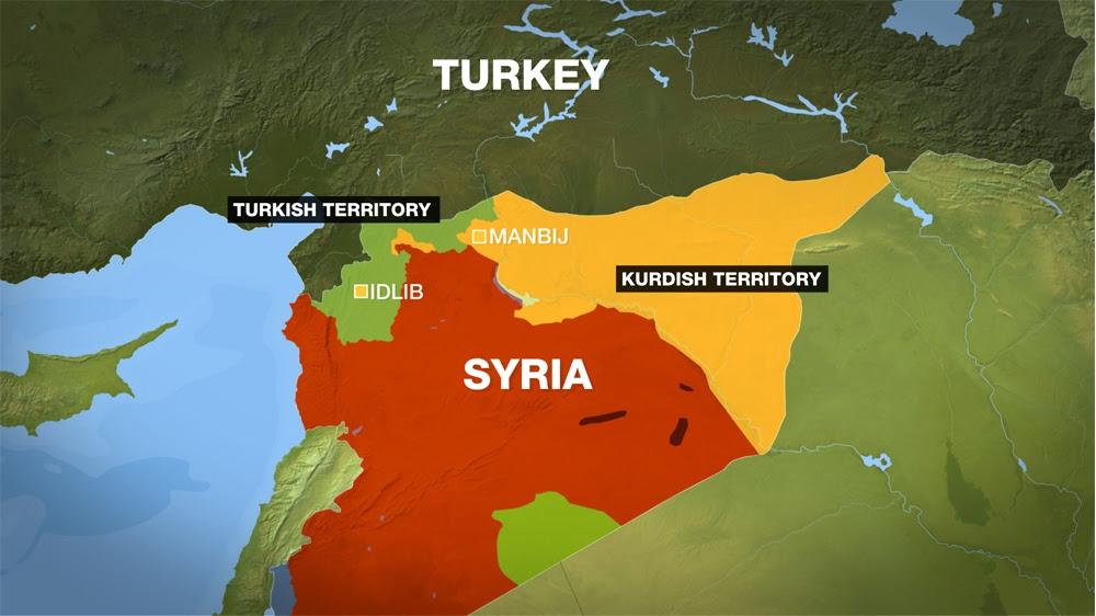 Syria-Tukey map