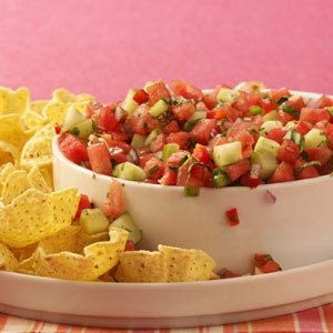 Contest-Winning Watermelon Salsa