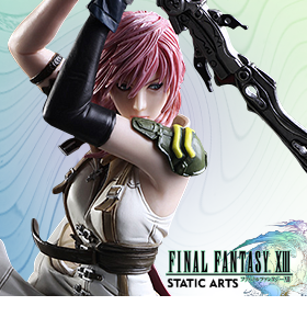 FINAL FANTASY XIII STATIC ARTS BUST – LIGHTNING