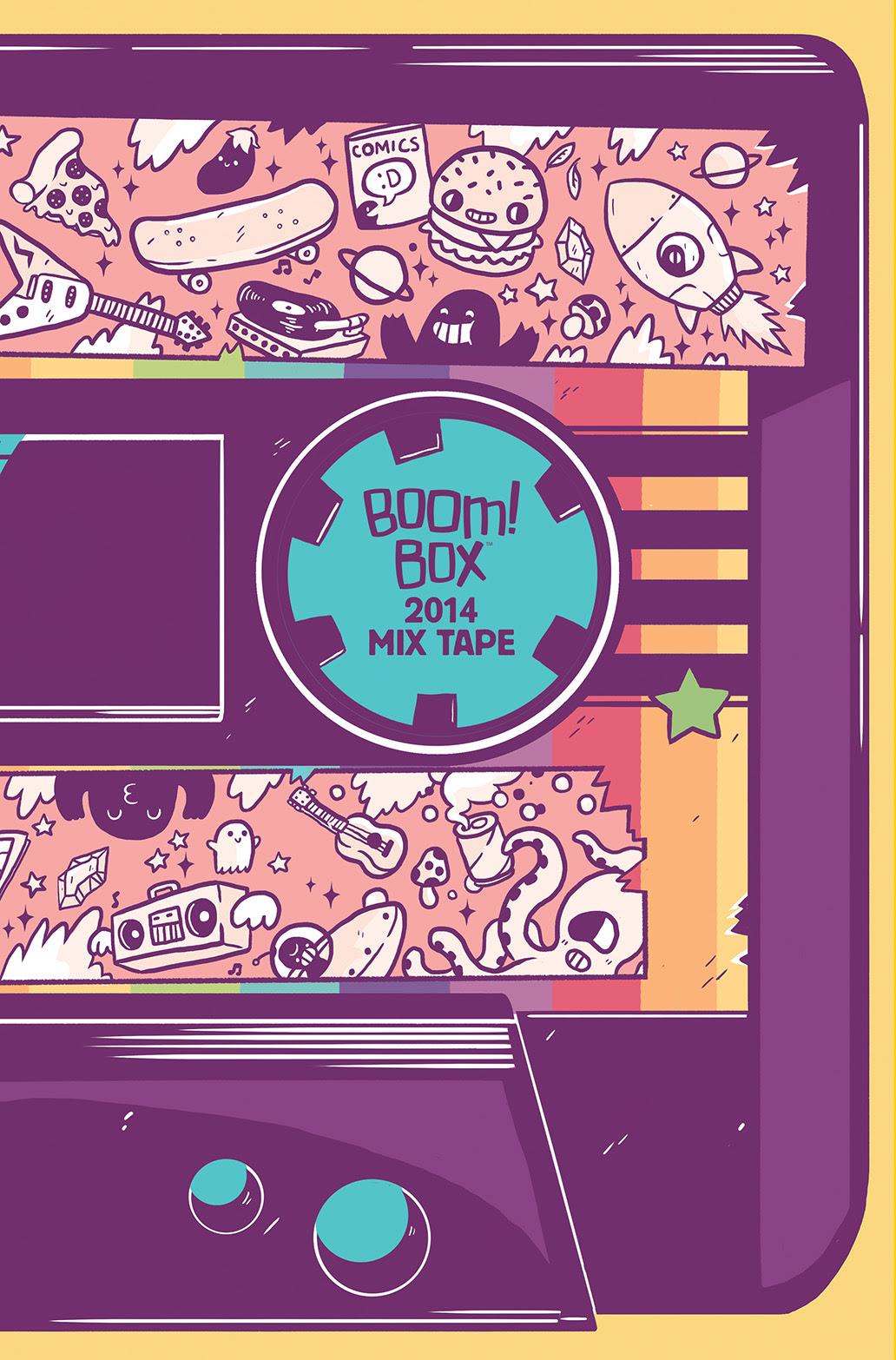 BOOM! Box 2014 Mix Tape #1 Cover B