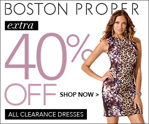 Extra 40% off all clearance dr...
