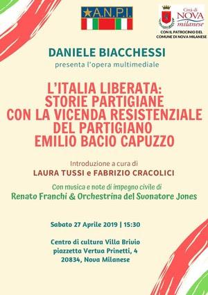 Daniele Biacchessi - L'Italia Liberata. Storie partigiane