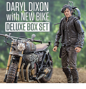 DARYL DIXON WITH BIKE BOXED SET