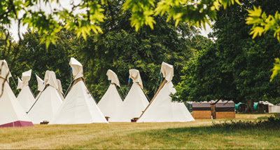 LUXURY TIPI FOR 2