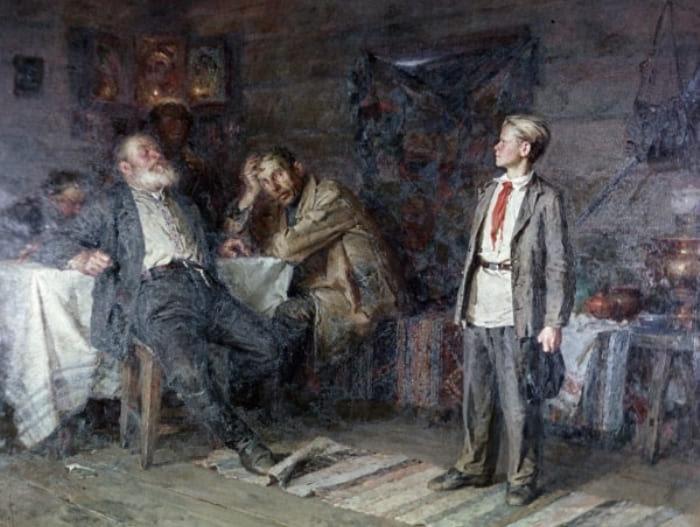 Н. Чебаков. Павлик Морозов, 1952 | Фото: aif.ru