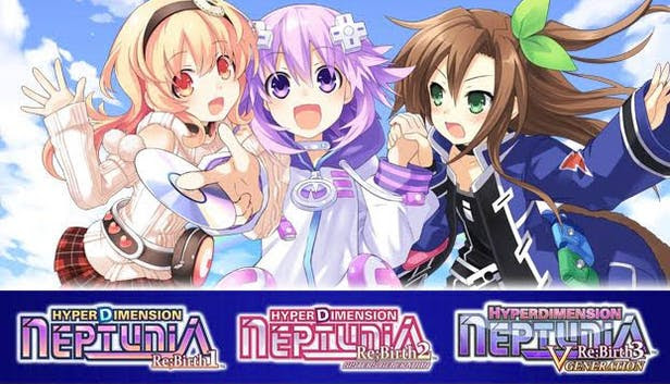 Hyperdimension Neptunia Re;Birth 1-3 Collection