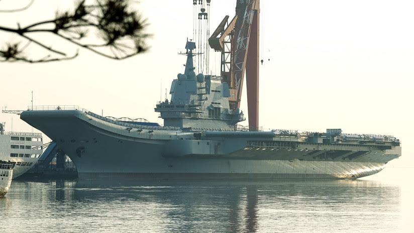 VIDEO: China inicia las pruebas marítimas de su primer portaviones de fabricación nacional