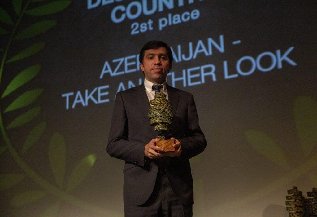Azərbaycanın tanıtım videoçarxı festivalda uğur qazandı
