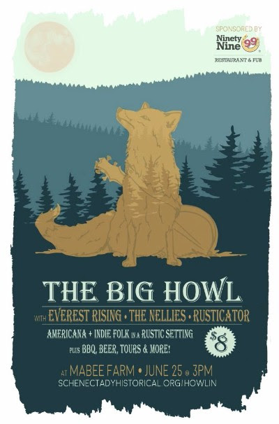 The Big Howl | Everest Rising, The Nellies, Rusticator @ Mabee Farm Historic Site | Rotterdam Junction | New York | United States