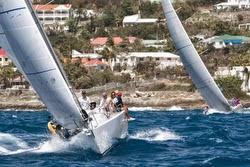 J/109 sailing Heineken St Maarten regatta