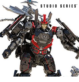 TRANSFORMERS STUDIO SERIES DELUXE DRIFT & MINI DINOBOTS