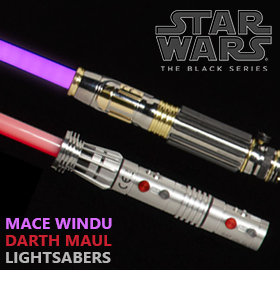 STAR WARS: THE BLACK SERIES LIGHTSABERS