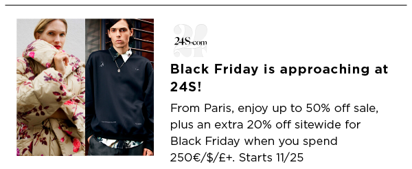 24S Best Black Friday Sales