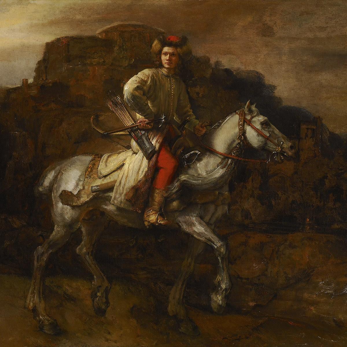 The Polish Rider by Rembrandt van Rijn