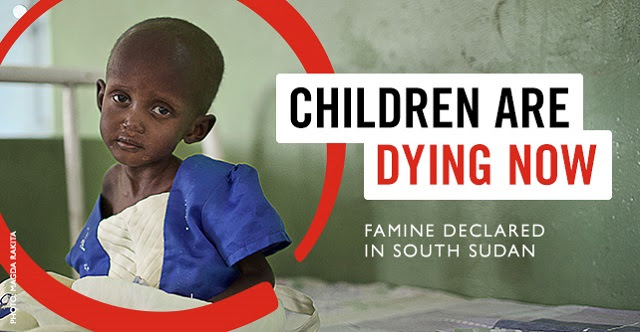 Children are Dying Now - Famine Declared in South Sudan